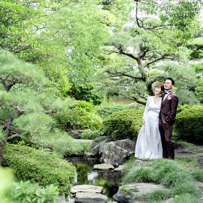 【月末BIG*20大特典】青空&緑溢れる庭園×チャペル*阿波牛試食