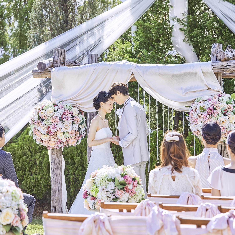 【選べる★フォト婚】大聖堂&ガーデン*2人らしいスタイルが叶う