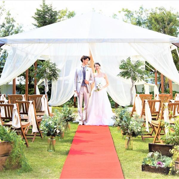 【2021年4月~6月】新緑輝く春☆安全な結婚式で安心プラン♪