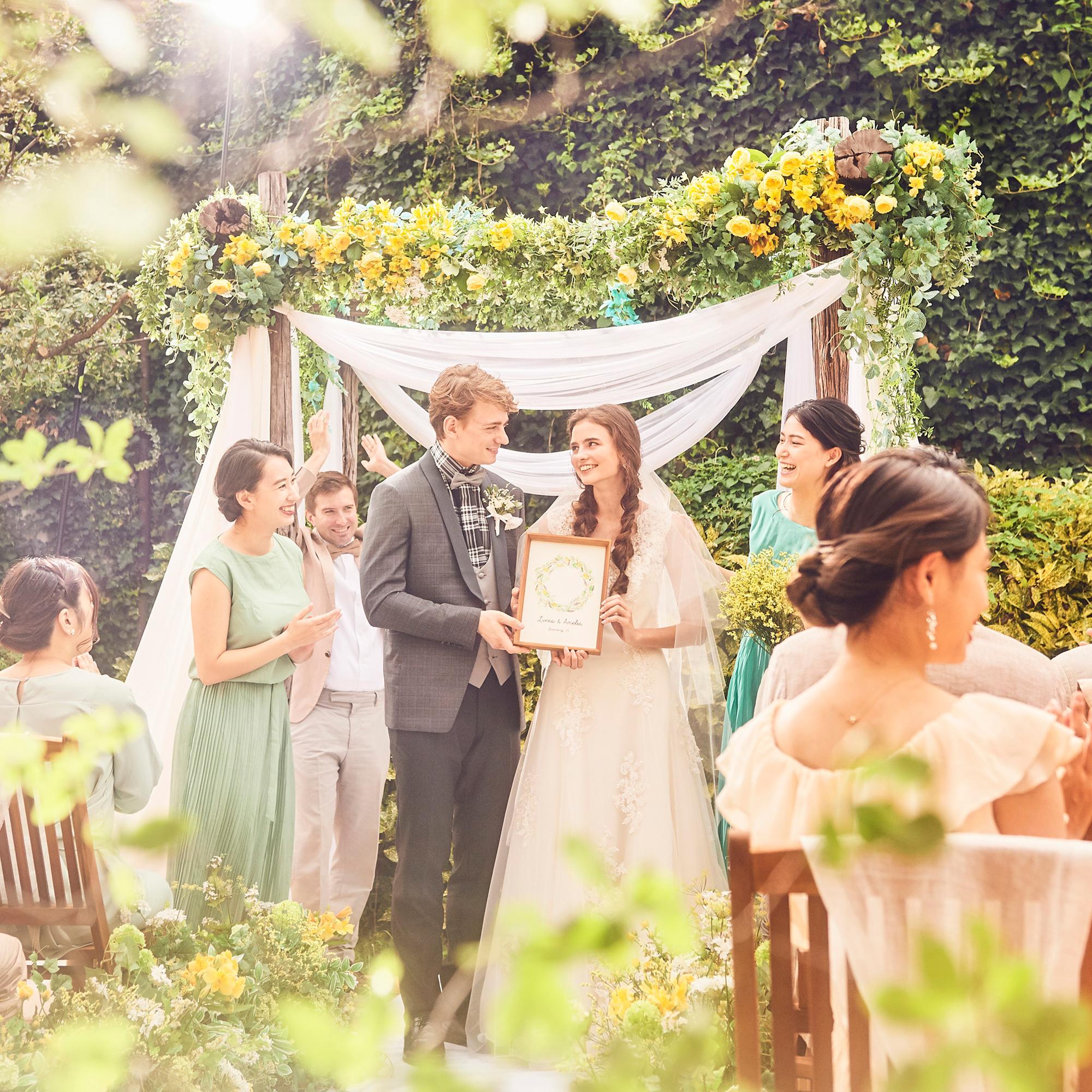 2021年4月までに結婚式&日程延期は無料◆◇40名94万円◇◆カジュアル挙式×パーティープラン◆