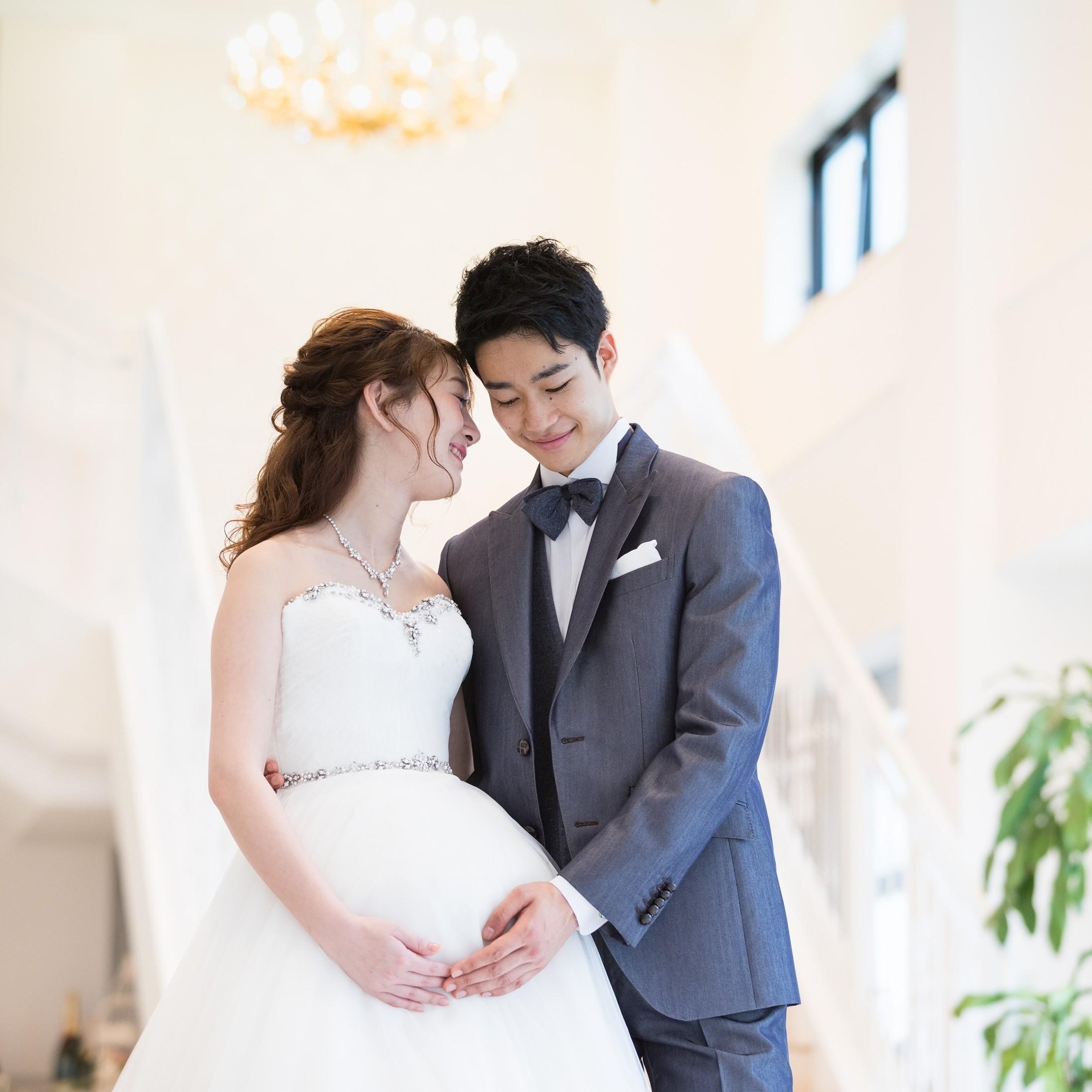 ◇◆50名117万円◆◇マタニティ&パパママ婚プラン♪