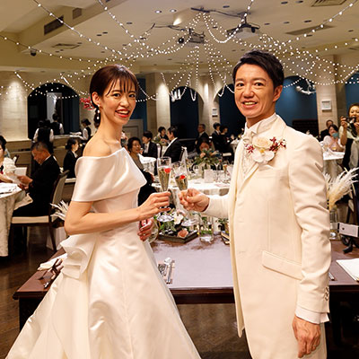 アットホームな笑顔あふれる結婚式