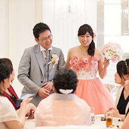 ゲストの笑顔あふれるご結婚式