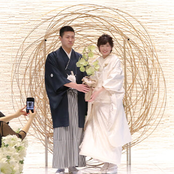 心温まるNatural Wedding