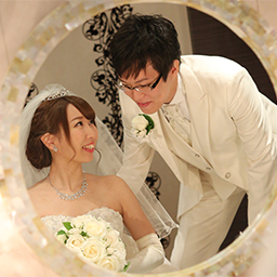 愛情溢れるアットホームな結婚式