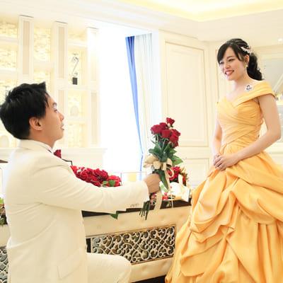 プリンセスの世界を実現した華やかwedding