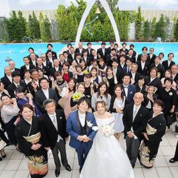 ご家族からの愛に溢れた結婚式