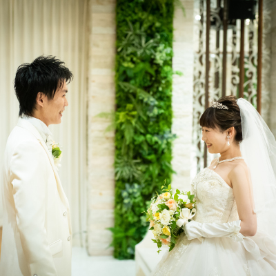幸せな未来へと続く結婚式