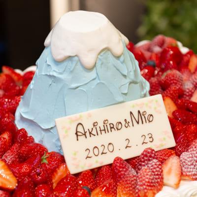大好きな富士山Wedding♡