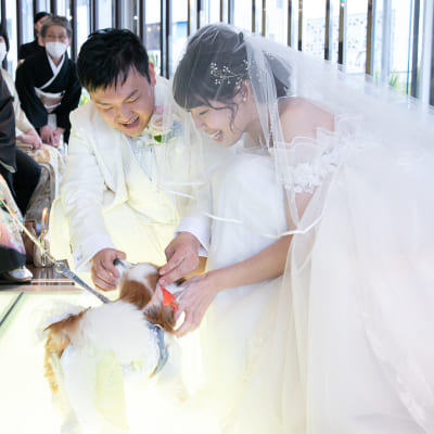 夢が詰まった結婚式♡