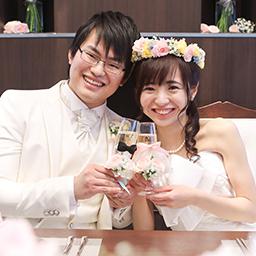 ハートいっぱい♡ゲスト参加型Sweet Wedding