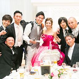 結婚式への夢いっぱい☆笑顔溢れる1日