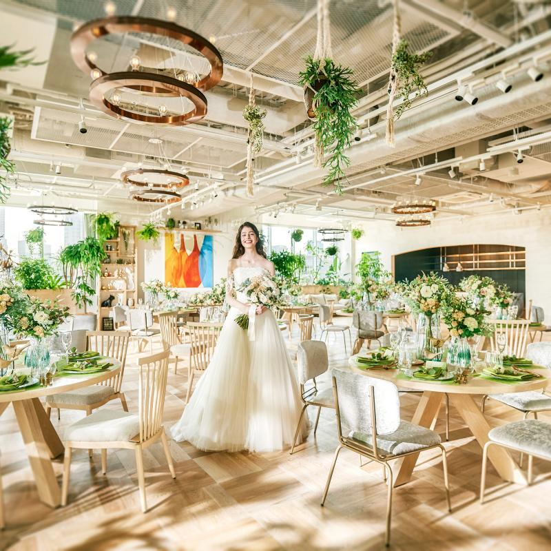 【2019年春婚を検討の方へ】光と緑のチャペル×美食ハーフコース