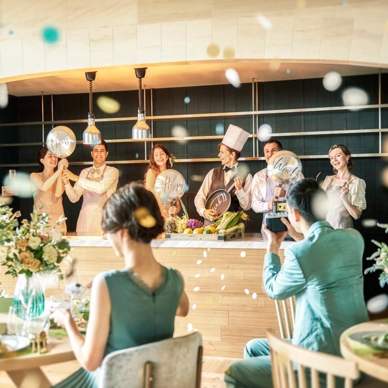 模擬披露宴イメージ写真
