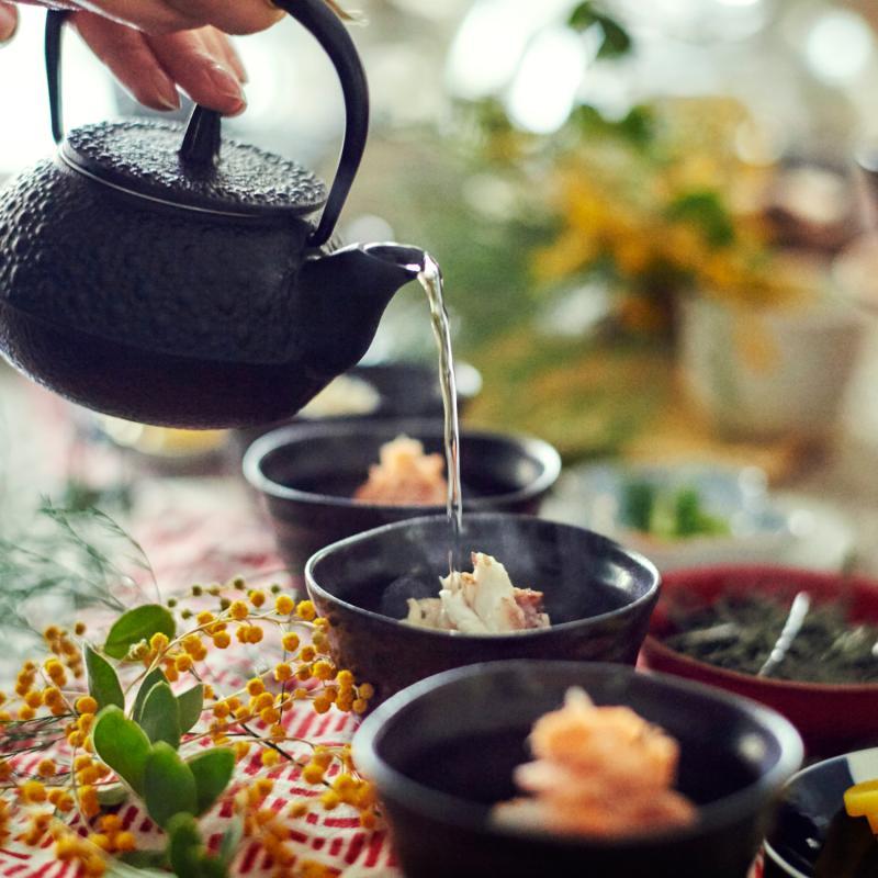 【HP限定】鯛茶漬け×シェフ特別コース★おもてなし体感フェア