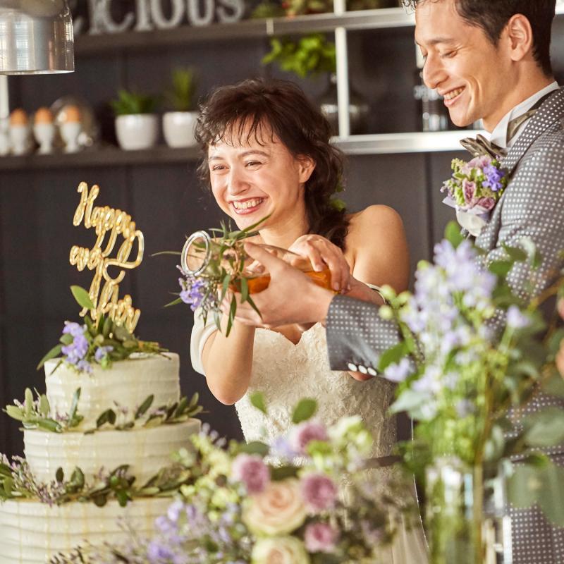 ◆ゲストの笑顔重視◆自由度◎×貸切×美食【カメラマン特典付】