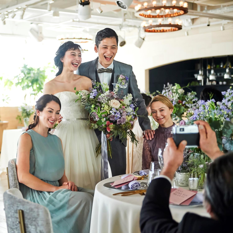 【30名以下の結婚式にオススメ】挙式+アットホームお食事会プラン★美食とおもてなし溢れるウエディング