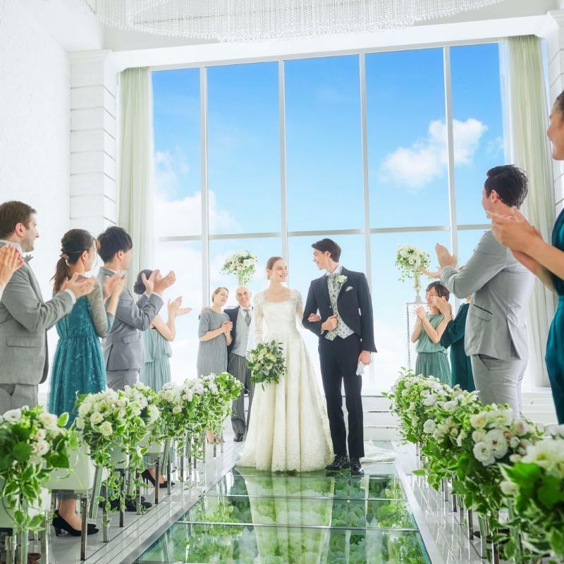 【3連休限定☆大婚礼祭】10大特典光溢れるチャペル×絶品試食