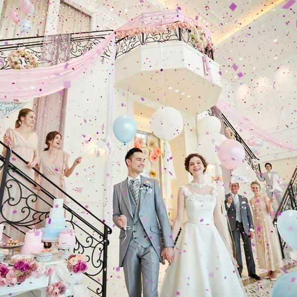 【大婚礼祭】10大特典×光溢れるチャペル×絶品試食×演出!