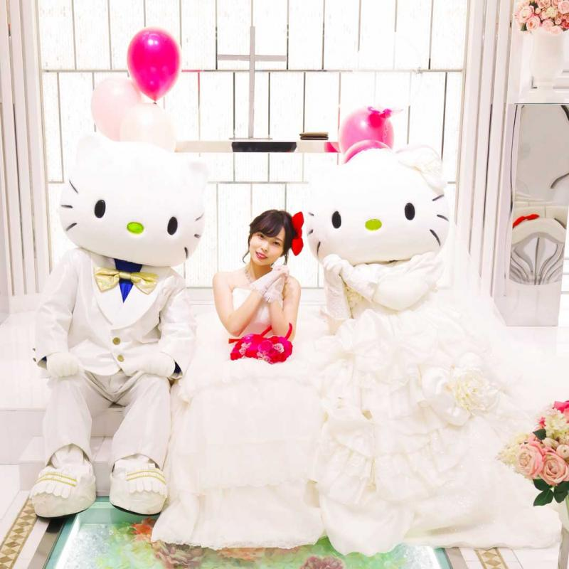残1席★ハローキティを結婚式に招待★限定特典×プラン相談会♪