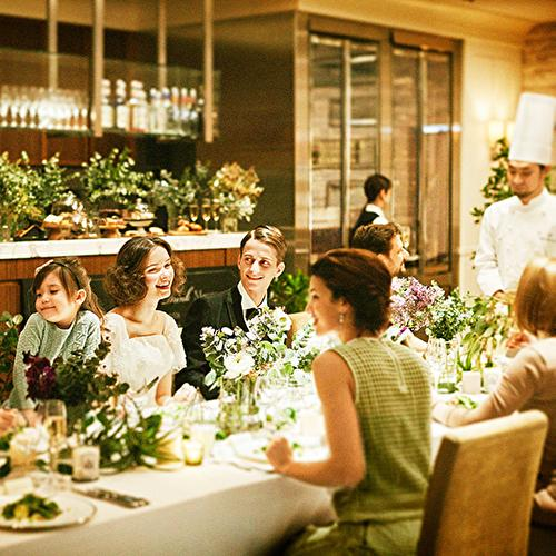【お得に叶える少人数パーティ】ご家族婚×一軒家貸切レストラン