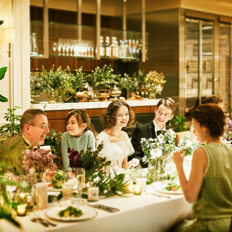 【ご家族婚☆感謝を伝える1日に】完全貸切×美食×挙式体験