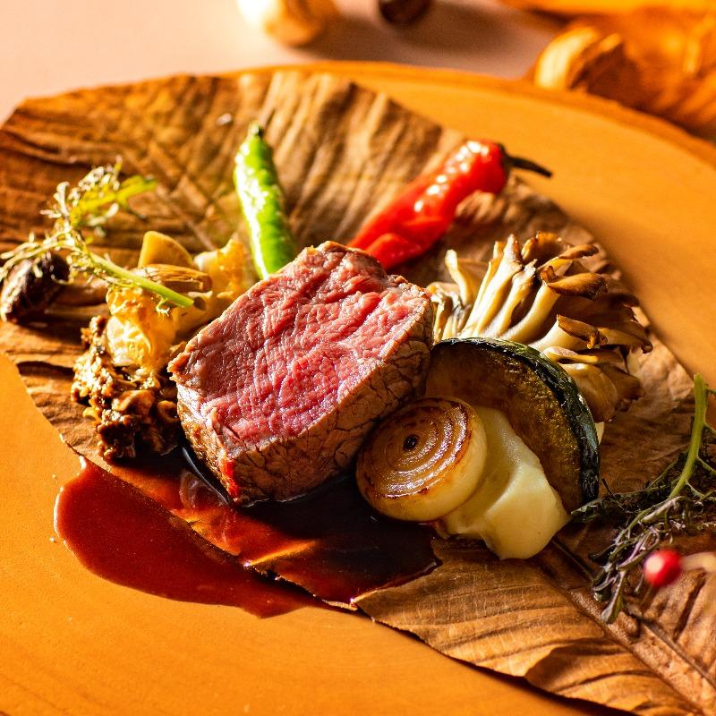 【料理2ランクUP】メイン料理2種食べ比べ◆本番直前会場の見学