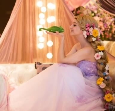 プリンセスフェア ディズニープリンセス写真立てプレゼント