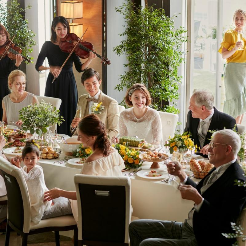 【1組貸切】6名からOK!無料試食付き家族挙式×会食相談会