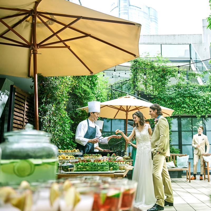 【当館人気NO1】ガーデンパーティ体験×フォトジェニック撮影