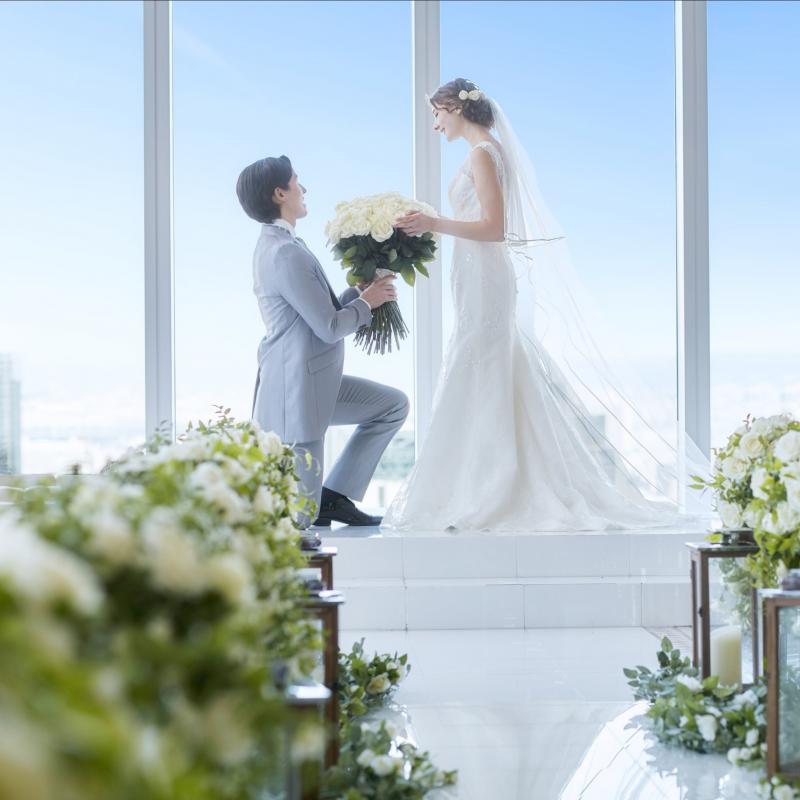 【帰省費特典付】憧れの結婚式がお得に叶う!天空チャペルフェア