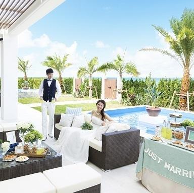 【沖縄サロン】リゾ婚×ガーデンウェディング おしゃれW見学会