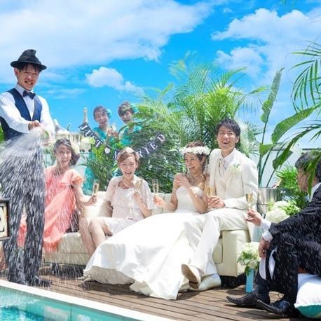 【沖縄サロン】ガーデン付邸宅で叶えるリゾ婚ダンドリ相談会