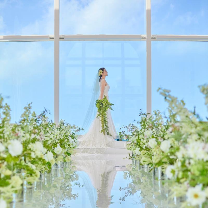 【沖縄】水の祭壇チャペル×ガーデンを体感★試食付きフェア