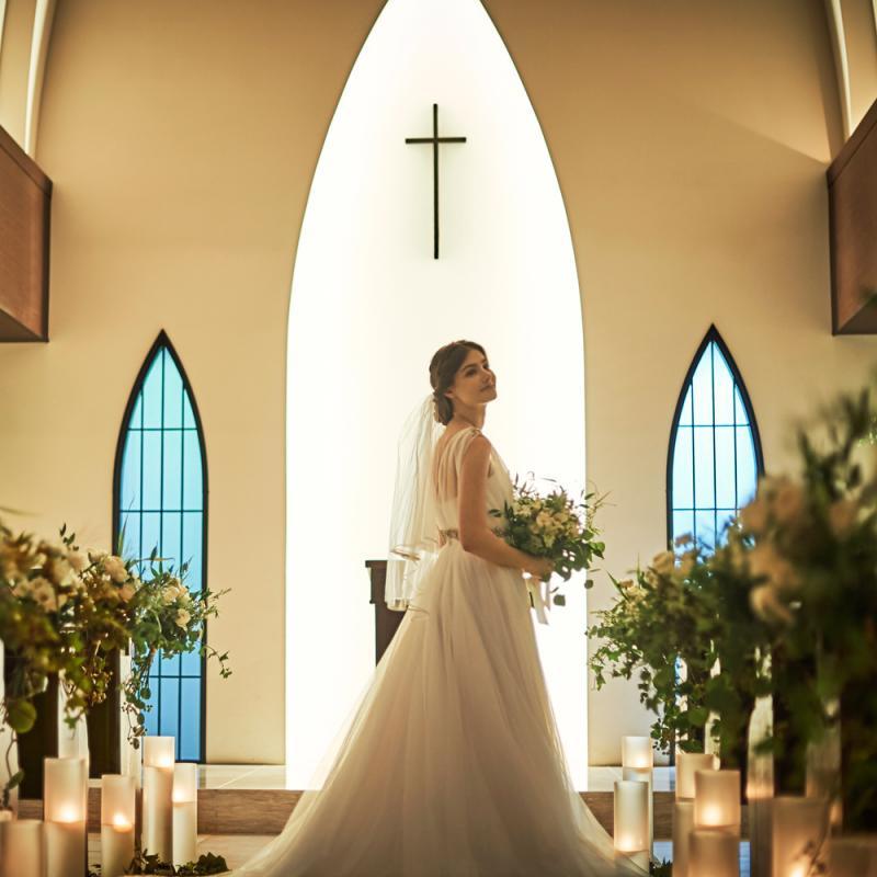 【ドレス1着プレゼント】憧れの独立型教会見学×納得の見積相談
