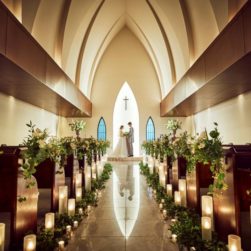 【ドレス1着付】憧れの挙式が叶う◆南青山の独立型教会見学
