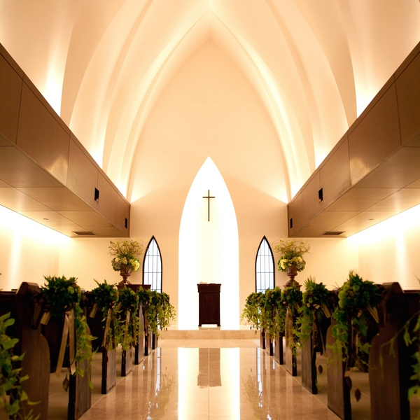 【挙式のみ検討の方へ】<短時間でしっかり>独立型教会見学