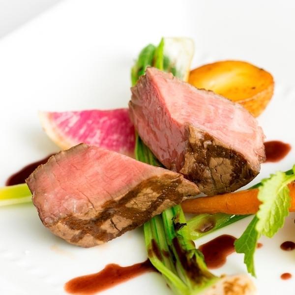 ◆料理ランクUP特典◆仙台牛&オマール海老など高級食材5品堪能