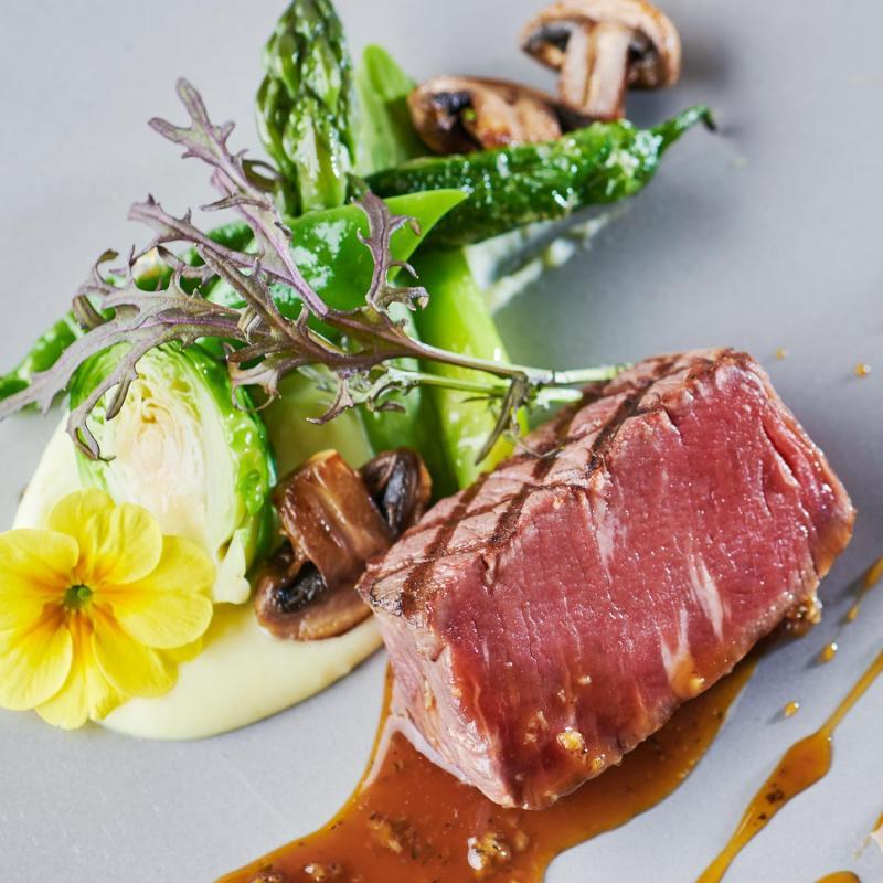 ◆料理ランクUP特典◆仙台牛&オマール海老など高級食材5品試食