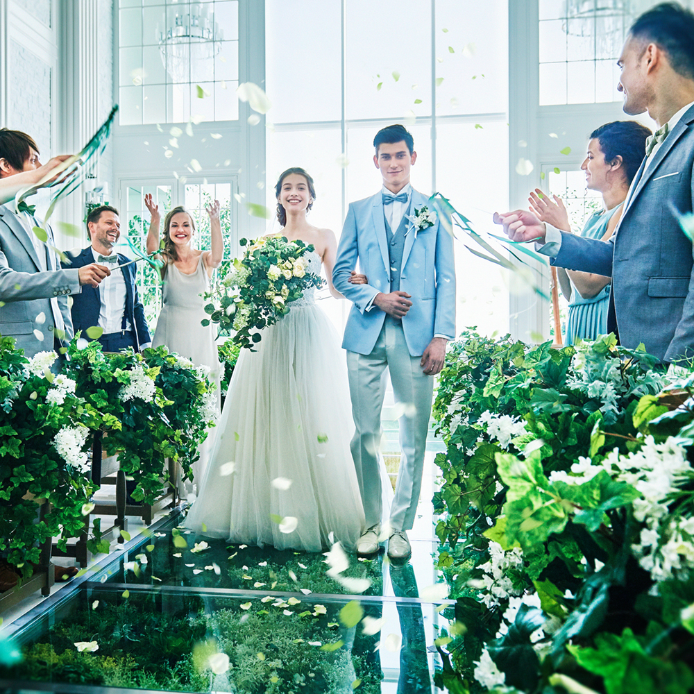 【2020年7月~9月挙式限定】◇◆50名185万◆◇お洒落な装飾が映える♪夏婚プラン