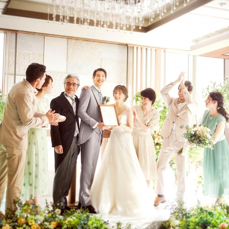 【家族婚におすすめ◎】銀座貸切×おもてなし×アットホーム挙式
