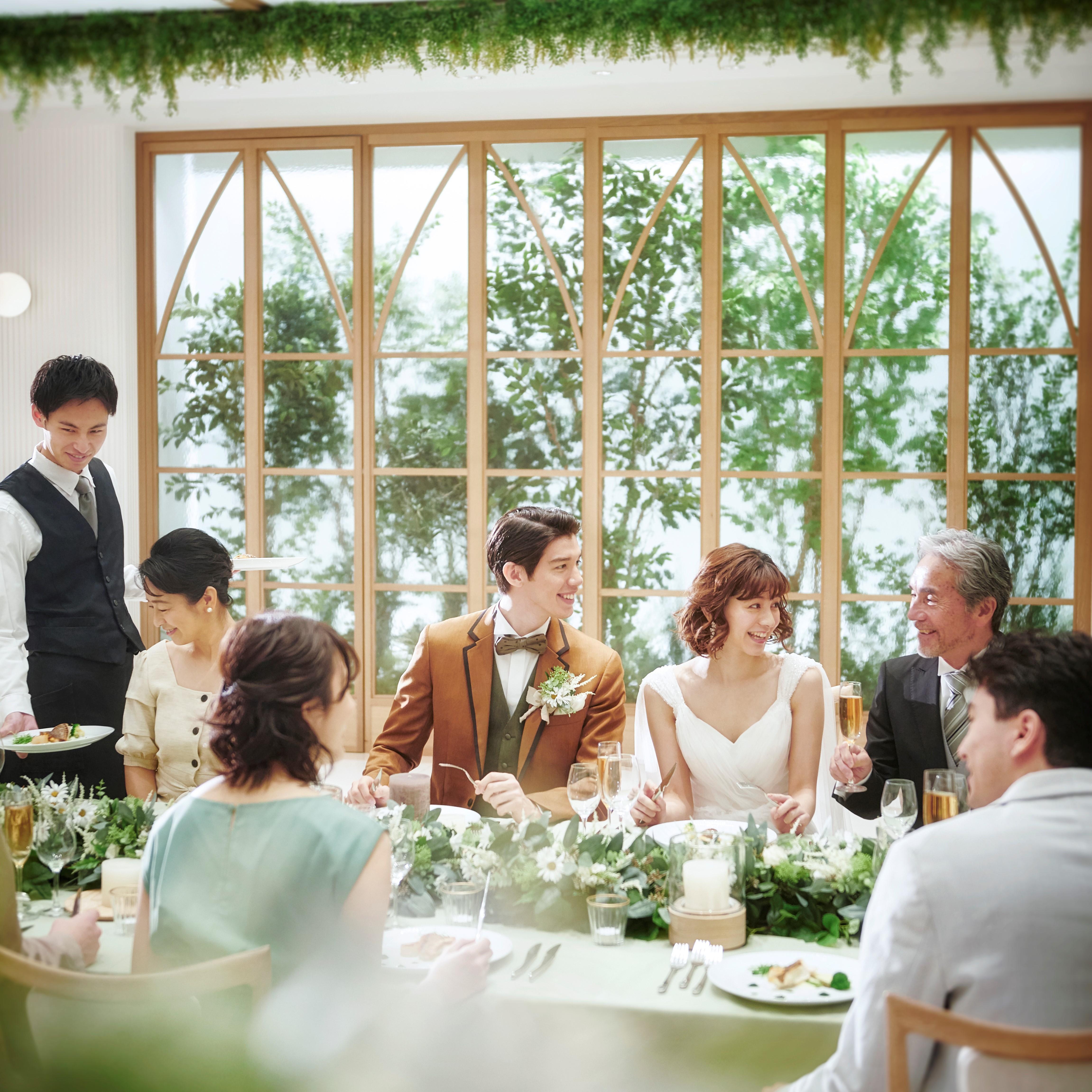 ★期間限定★2名~30名がオススメ【大切な方と温かい結婚式を】アットホーム会食プラン