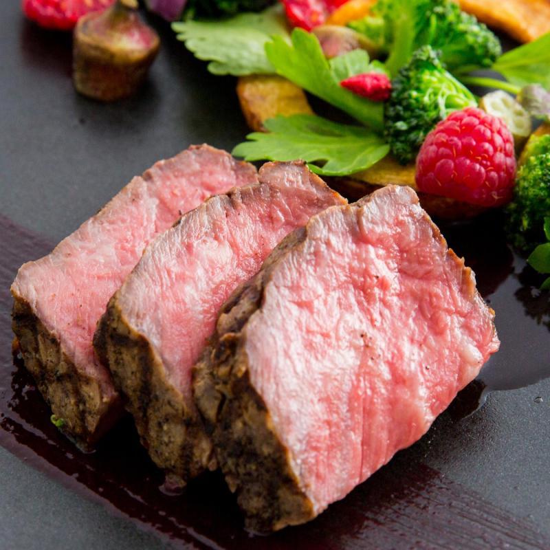 ※連休限定※【料理ランクUP特典付】国産牛×真鯛の贅沢試食