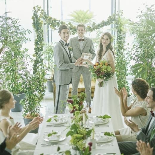 【少人数プラン】6名からご案内OK!挙式&会食 #家族婚プラン