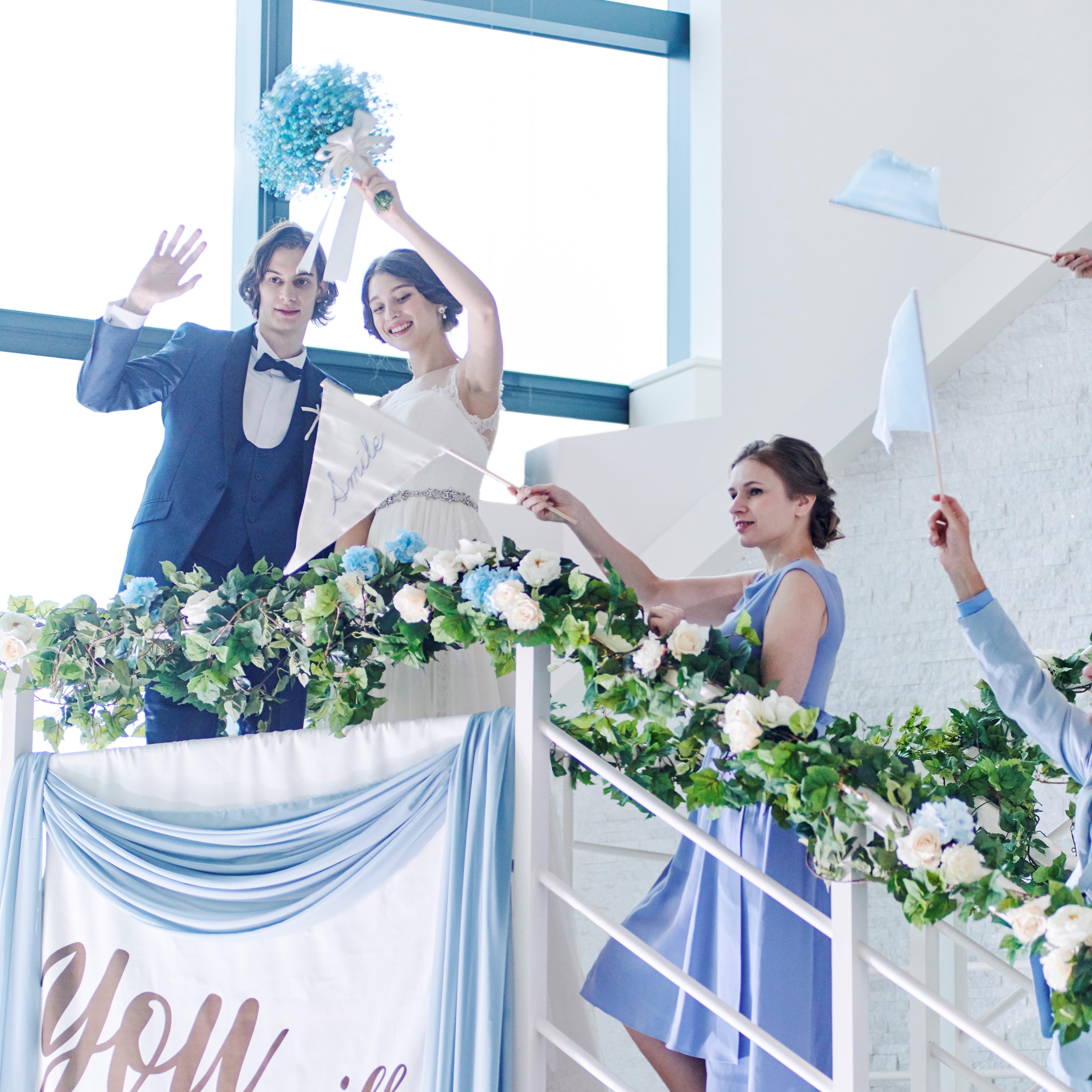<2022年1月~3月>理想の結婚式はしっかりした準備から!ゆったり準備プラン♪