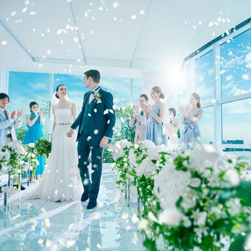 残2【100万円特典】東京一望!絶景Wedding×豪華試食