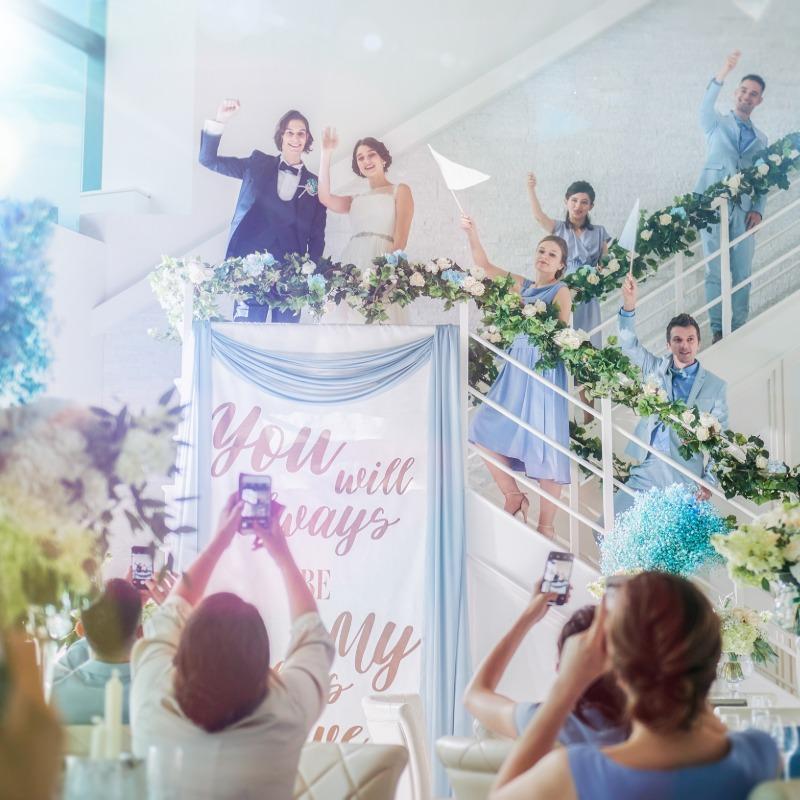 【新春フェア】10大特典付き★絶景&階段入場×婚礼料理も堪能