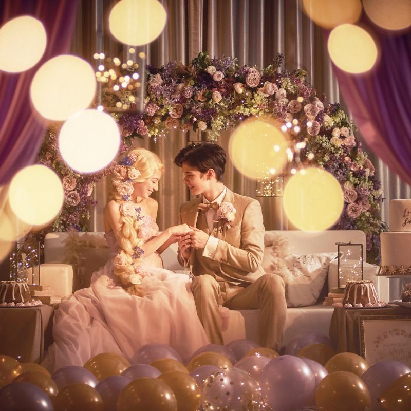 ※1組限定★ディズニープリンセスグッズ特典付★試食×花嫁体験