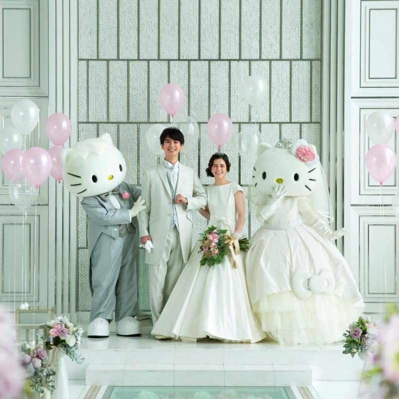 ※3組限定★キティを結婚式に招待★限定特典×特別プラン相談会