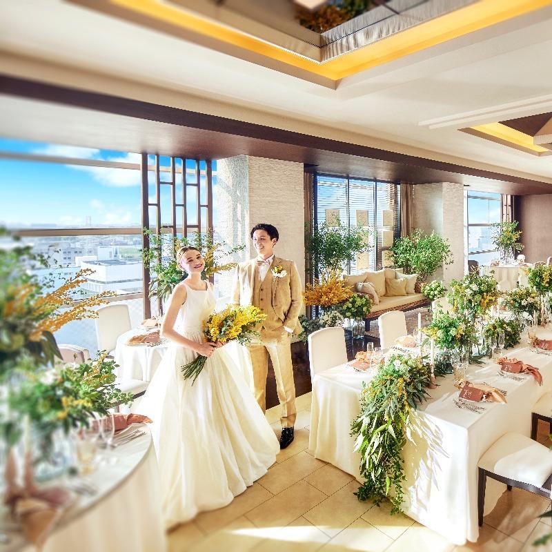 ≪初見学におすすめ≫結婚式まるごと相談×ドレス選び放題特典付